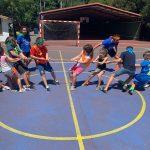 CAMPUS 1-15 JULIO: Baloncesto y sokatira (FOTOS)