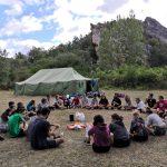 CORNEJO 1-11 AGOSTO: Escalada, rappel y acampada (FOTOS)