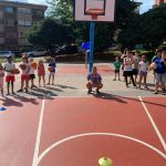 CAMPUS 1-15 AGOSTO: Practicando baloncesto y volleyball (FOTOS)