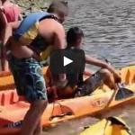 CAMPUS (16-30 julio) y SURF (21-31 julio): Refrescándonos con las piraguas en Plentzia (VÍDEO)