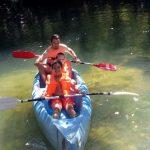 CORNEJO 11-21 agosto: Piraguas en el río Trema